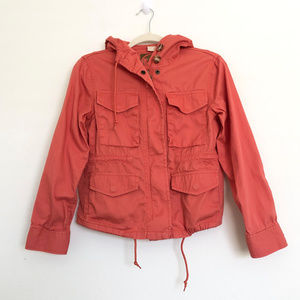 Michael Kors Orange Utility Jacket